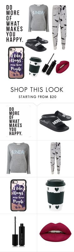 """""""Bad sunday"""" by jerney-quotes ❤ liked on Polyvore featuring Native State, Alberta Ferretti, ZoÃ« Jordan, Casetify, Miss Étoile, Marc Jacobs and Huda Beauty"""