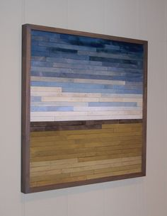 Cool Reclaimed Wood Crafts. My brother makes incredible pieces out of salvaged wood! Curtains With Blinds, Window Curtains, Salvaged Wood, Made Of Wood, Old Doors, Wood Blocks, Wood Wall Art, Wood Signs, Diy Wood Projects