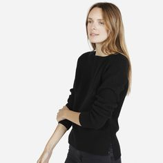 The Chunky Wool Wide Crew Neck - Everlane