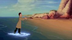 GIF Supernatural meets The Little Mermaid. I love this. Do not ship Destiel, but this is hilarious!