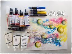 Cheap Art Supply CHALLENGE ♡ Maremi's Small Art ♡