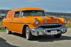 1956 Canadian Pontiac Pathfinder Sedan Delivery. 1383 built, but, not available in USA.