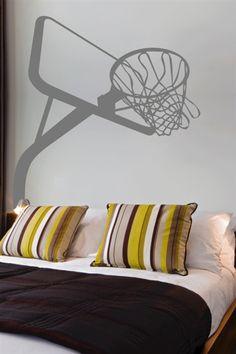 Basketball Hoop Art | Wall Decals Basketball Hoop- WALLTAT.com Art Without Boundaries