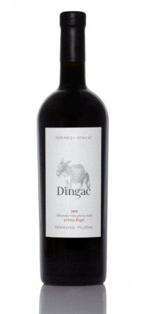 Dingac by Dingac - From the famed Dingač vineyard on the steep coast in Southern Dalmatia. Slight barrique (oak) was used, only the best Plavac Mali fruit fermented and matured in large barrels.    One of Croatia's finest red wines!