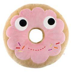 Kidrobot donut pillow