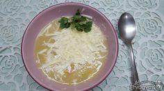 Sajtos cukkinikrémleves Coconut Flakes, Grains, Spices, Food, Spice, Essen, Meals, Seeds, Yemek