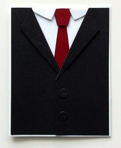 Card for men MFT suit and tie die - My Favorite Thing Die-namics Suit and tie die - Kort til mænd - jakke - Karte für Männer