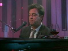 Billy Joel - Piano Man (video date: 1985); Piano Man was the first single released by Billy Joel, on November 1, 1973, and has been on several albums. Billy Joel's first major hit and signature song peaked at #25 on the Billboard Hot 100 chart in April 1974.