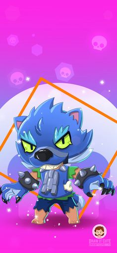 How to draw Werewolf Leon Stars Wallpaper, Star Coloring Pages, Heavy Metal Art, Star Character, Star Work, Star Pictures, Fan Art, Cute Animal Drawings, Pixel Art