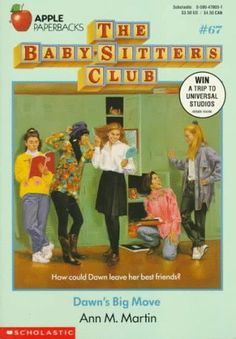 LOVED The Babysitter's Club!!  Had every book!