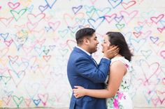 Union Market proposal in Washington DC by Megan Rei Photography. ASsseen on United with Love, a source for dc area wedding inspiration and ideas. Wedding Engagement, Engagement Session, Union Market, Heart Wall, Marriage Proposals, Getting Engaged, Washington Dc, Wedding Inspiration, The Unit