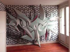 Nous avions déjà parlé de l'artiste italien Manuel Di Rita, aka Peeta, à la fois peintre, designer, graffiti writer, sculpteur, et de ces incroyables sculpt