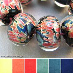 Art Bead Scene Blog: Art Bead Palette :: Fire Lily Glass Studio