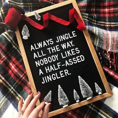 If youre looking for some fun Christmas quote ideas to use on your letterboard weve got some fun inspiration for you. From the sweet to the funny. Christmas Time Is Here, Merry Little Christmas, Noel Christmas, Christmas Signs, Christmas Humor, All Things Christmas, Christmas Decorations, Funny Christmas Quotes, Xmas