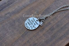 Army wife necklace/Army Pendant/Army wife charm/Army necklace/Military necklace/Soldier necklace/Soldier pendant/Army girlfriend necklace The army has my soldier, but I have his heart necklace. - Necklace hangs from a silver link chain - Chain measures about 20 inches and has a 2