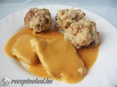Érdekel a receptje? Kattints a képre! Küldte: Dorci90 Easy Healthy Recipes, Meat Recipes, Easy Meals, Cooking Recipes, Hungarian Cuisine, Hungarian Recipes, Hungarian Food, What To Cook, Easy Cooking