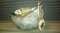 Brocante vintage mand van Something Different op DaWanda.com