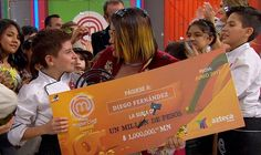 Diego y su victoria en MasterChef Junior