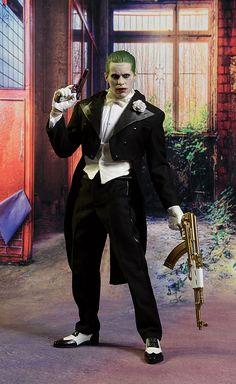 Suicide Squad Tuxedo Joker scale action figure by Hot Toys Joker Pics, Joker Art, Energy Kids, Jared Leto Joker, Joker Drawings, Actress Margot Robbie, Cool Backgrounds Wallpapers, Joker Poster, Superhero Cosplay