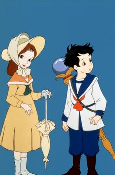 A detail of characters from the 1989 film Little Nemo: Adventures In Slumberland, directed by Masami Hata and William T. Hurtz.  This joint Japanese-American production was based on Winsor McCay's Little Nemo In Slumberland comic strip, which debuted in 1905.  This was the first film I ever saw in a theater when I was a boy and I adored it!