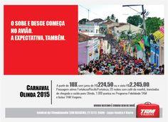 Anúncio TAM - Carnaval de Olinda