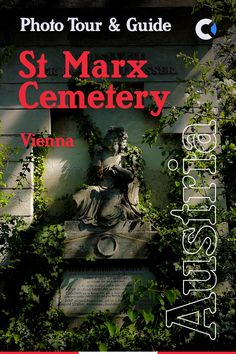 Photo Tour & Guide to St Marx Cemetery is a historical burial ground in Vienna, used between 1784 and 1874. It Is most famous for being the original resting place of Wolfgang Amadeus Mozart.   How-to-get-to Guide & Map included!  #Vienna #Austria