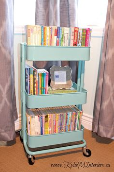 There are so many Ikea raskog trolley uses that you could use one in every room of your house. Check out these genius ideas for putting a Raskog cart to use Ikea Raskog Cart, Ikea Cart, Ikea Trolley, Toy Rooms, My New Room, Girl Room, Bedroom Girls, Bedroom Ideas, Preteen Girls Rooms