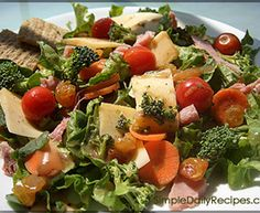 Simple Lunch Salad Recipe