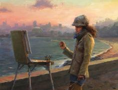 ~ Jacob Dhein: Sasha, Oil on Linen