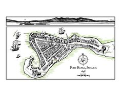 Port Royal Jamaica  Once known as the wickedest city in the