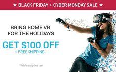 Head over to the Vive blog to learn more about our Black Friday deals! #vrshop #vrheadset #htcvive #psvr #bobovr #baofeng #mobilevr #vr360 #vrnews #virtualreality #immersive #htcive #vrbox #virtualrealityshop #vrheadsetsshop #sale #saleprice #mobilevr