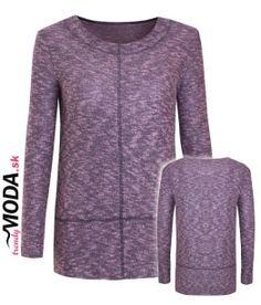 Fialový dámsky pulóver - trendymoda.sk Sweaters, Fashion, Moda, Fashion Styles, Sweater, Fashion Illustrations, Sweatshirts, Pullover Sweaters, Pullover
