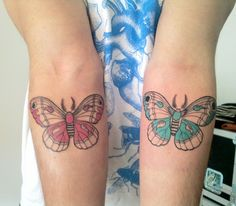 I like this. Even though I'm not fond of butterfly tattoos.