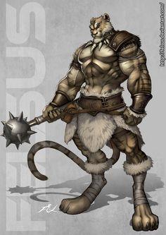 Liger Male by Felsus.deviantart.com on @DeviantArt