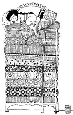 A zentangle of one of my favorite fairy tales! Doodle Art Drawing, Zentangle Drawings, Doodles Zentangles, Mandala Drawing, Zentangle Patterns, Doodle Paint, Buch Design, Mandala Art Lesson, Zen Art
