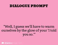 dialogue prompt