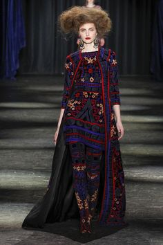 Naeem Khan | Fall/Winter 2016 Ready-to-Wear Collection via Naeem Khan | Modeled by ? | February 17, 2016; New York