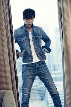 Park Hae Jin and Go Joon Hee - Calvin Klein F/W 2014