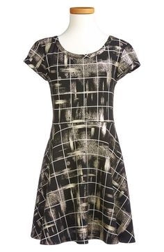 Sally Miller 'Glam' Plaid Dress (Big Girls) available at #Nordstrom