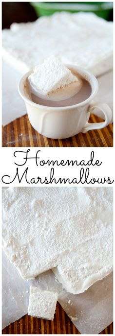 This homemade marshmallow recipe has no corn syrup, but it performs, tastes, and looks like the real thing- with better ingredients!