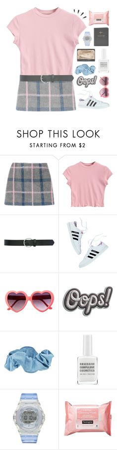 """new horizon underneath the blazing sky"" by i-smell-grunge ❤ liked on Polyvore featuring M&Co, Anya Hindmarch, Forever 21, Obsessive Compulsive Cosmetics, Baby-G, Neutrogena, Old Navy and FOSSIL"