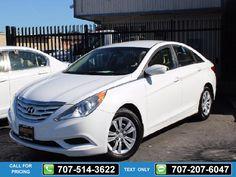 2013 Hyundai Sonata GLS Auto White $13,995 37458 miles 707-514-3622 Transmission: Manual  #Hyundai #Sonata #used #cars #NinoMotors #Vallejo #CA #tapcars