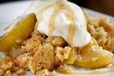 Smuldrepai med eple Pudding Desserts, No Bake Desserts, Norwegian Food, Pie Crumble, Scandinavian Food, Sweet Cakes, Pavlova, Food Inspiration, Food Porn