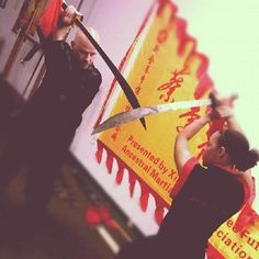 Kung Fu Broadsword! Sifu Dutch Jenkins, Chan Family Choy Lee Fut Fresno. www.clfkf.com