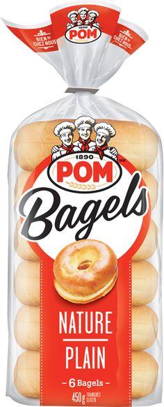 Bagels nature POM®