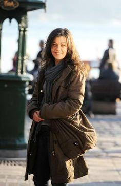 FİLİZ AHMET Meryem Uzerli, Turkish Actors, Madame, Winter Jackets, Celebrities, Coat, My Style, Angel, Earth