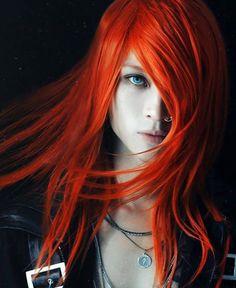 #orangehair