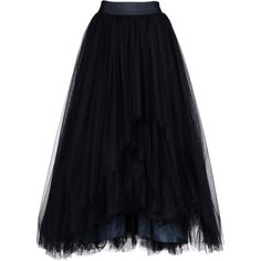 Alberta Ferretti Skirt ($3,645) ❤ liked on Polyvore featuring skirts, bottoms, faldas, long skirts, dark blue, skirts & pants, alberta ferretti skirt, maxi skirts, dark blue maxi skirt and floor length skirts