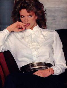 Jones New York, Mademoiselle magazine, September 1981.