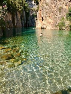 The Fountain of the Baths of Montanejos is one of the most beautiful places in the Co . Places To Travel, Places To See, Wonderful Places, Beautiful Places, Places In Spain, Paraiso Natural, Moraira, Valencia Spain, Spain Travel